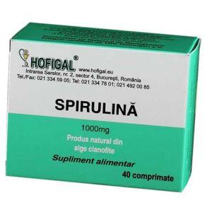 SPIRULINA 200/500/1000 mg - 40 capsule, Hofigal