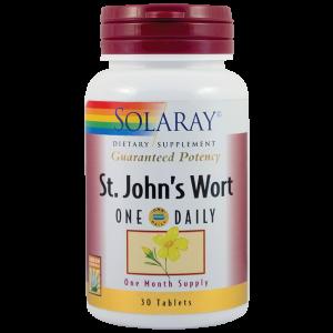 ST. JOHN'S WORT (Sunatoare) 900 mg, 30 tablete, Solaray