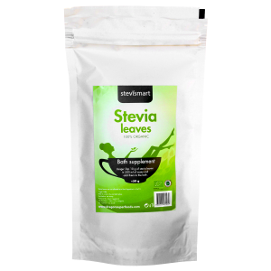 STEVIA (Stevie) FRUNZE USCATE RAW BIO, 50 g, Dragon Superfoods
