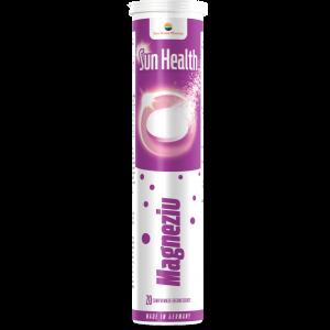 MAGNEZIU - SUN HEALTH, 20 comprimate efervescente, Sun Wave Pharma