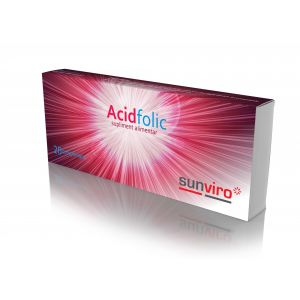 ACID FOLIC, 20 tablete, Sun Viro