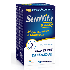 SUNVITA GOLD 30 comprimate, Sun Wave Pharma