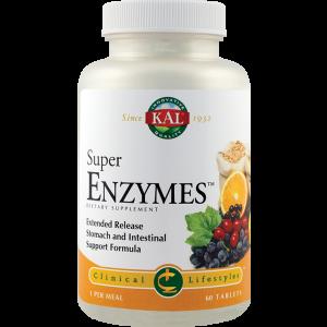 SUPER ENZYMES 30/60 tablete, Kal