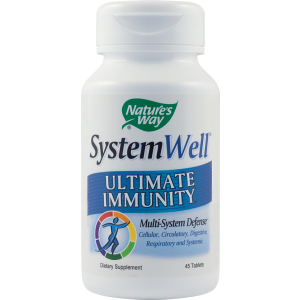 SYSTEM WELL ULTIMATE IMMUNITY 45 tablete, Nature's Way