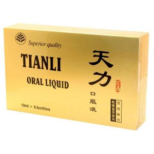 TIANLI ULTRA POWER - ORAL LIQUID, 6 sticlute x 10 ml, Changchun Tianli Health Products