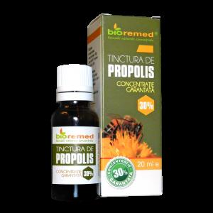 PROPOLIS CONCENTRATIE 30%, Tinctura 20 ml, Bio Remed