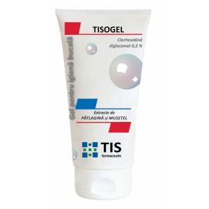 GEL CU CLORHEXIDINA 0,2% - TISOGEL, 50 ml, Tis Farmaceutic