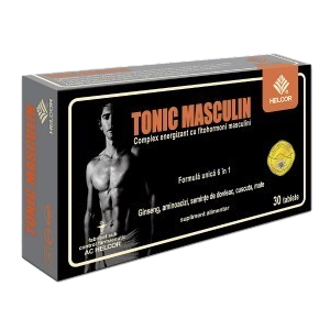 TONIC MASCULIN 30 comprimate, Ac Helcor