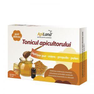 TONICUL APICULTORULUI 10/20 fiole x 10 ml, ApiLand