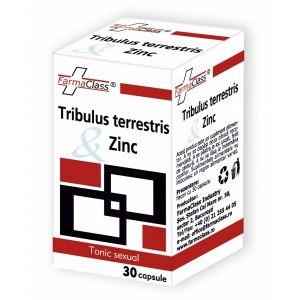TRIBULUS & TERRESTRIS & ZINC, 30 capsule, FarmaClass