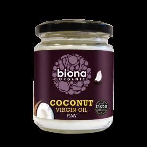 ULEI DE COCOS VIRGIN (RAW) BIO 200 g, Biona