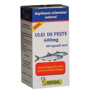 ULEI DE PESTE 600 mg, 60 capsule, Hofigal