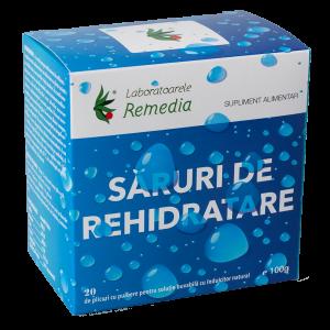 SARURI DE REHIDRATARE 20 plicuri, Laboratoarele Remedia