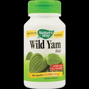 WILD YAM 425 mg, 100 capsule, Nature's Way