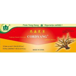 CORDYANG 2000 mg, 10 fiole buvabila a 10 ml, Yong Kang