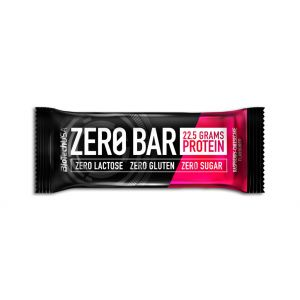 BATON PROTEIC - ZERO BAR Raspberry Cheesecake 50 g, Biotech Nutrition