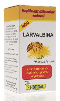 LARVALBINA 40 capsule, Hofigal