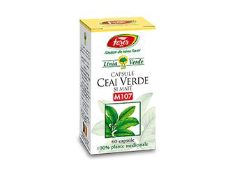 capsule ceai verde cu ananas si ghimbir