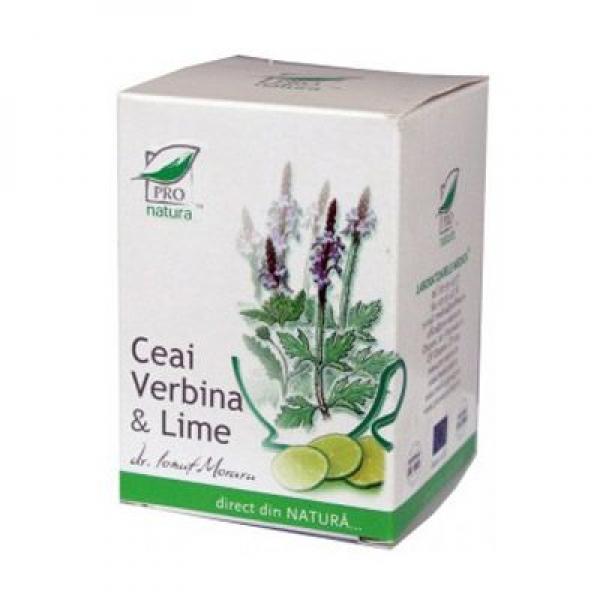 VERBINA & LIME, Ceai 20 doze, Laboratoarele Medica