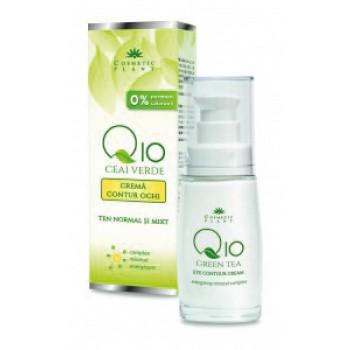 CREMA CONTUR OCHI Q10 + CEAI VERDE SI COMPLEX MINERAL ENERGIZANT 30 ml, Cosmetic Plant