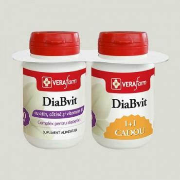 DIABVIT 60 comprimate 1+1, VERAfarm