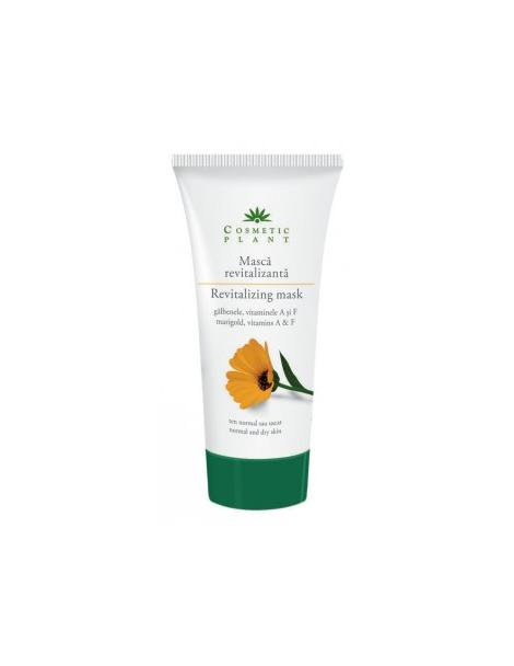 MASCA REVITALIZANTA CU GALBENELE SI VITAMINELE A, E 100 ml, Cosmetic Plant