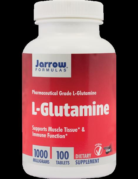 L-GLUTAMINE 1000 mg, 100 tablete, Jarrow Formulas