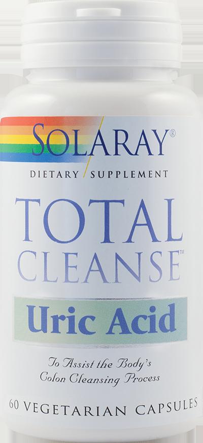 TOTAL CLEANSE URIC ACID 60 capsule, Solaray
